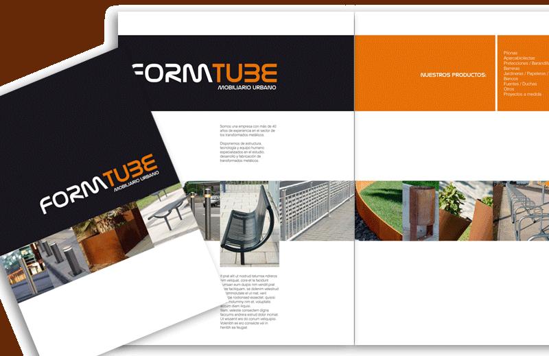 Diseño de catálogo FORMTUBE - Top Imatge Badalona