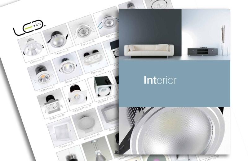 Diseño de catalogo LEDBCN - Top Imatge Badalona
