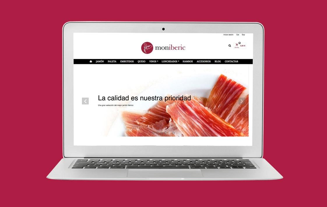Disseny web MONIBERIC - Top Imatge Badalona