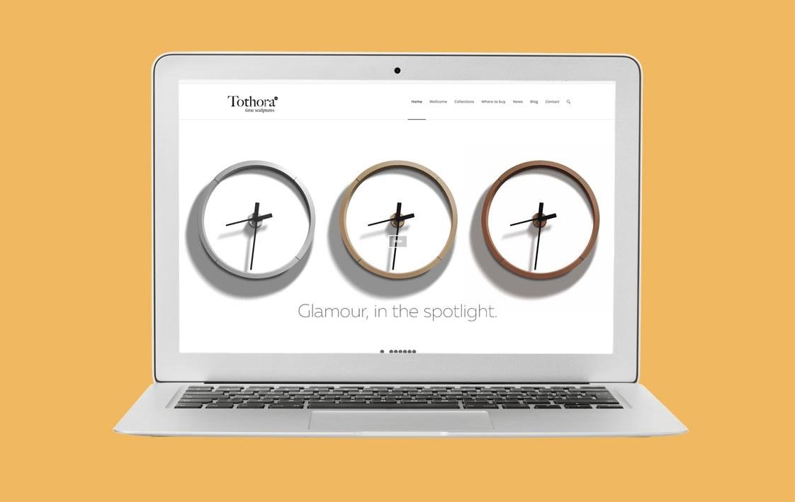 Diseño web TOTHORA - Top Imatge Badalona